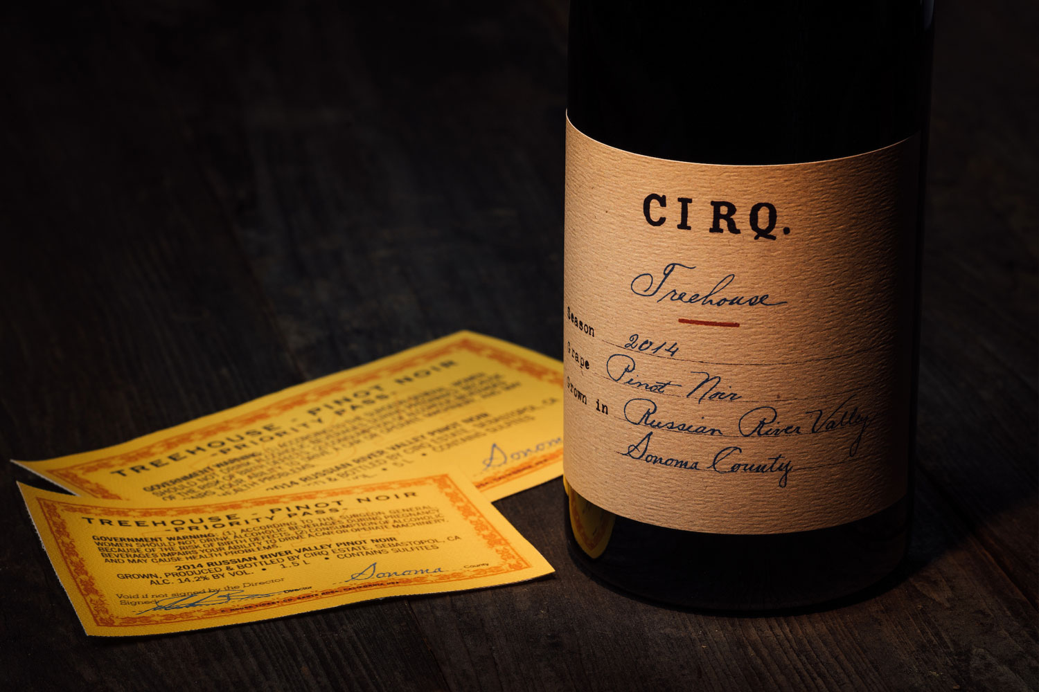 CIRQ - 2014 Treehouse Vineyard Pinot Noir
